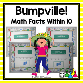 Addition & Subtraction to 10 - Four Games