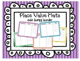 Bumpy Border Place Value Mat Set