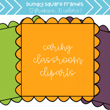Bumpy Frames (10 colors) - Personal and Commercial Use