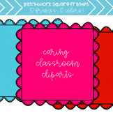 Bumpy Patchwork Frames (10 colors) - Personal and Commercial Use