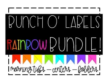 Bunch O' Labels - Rainbow Bundle