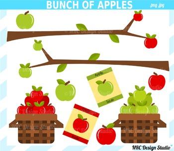 Apple farm clipart commercial use