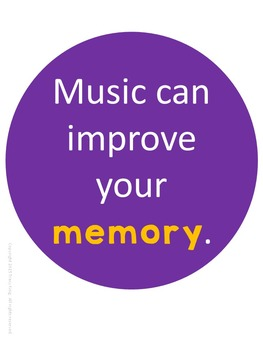 Bunch of Reasons Music Advocacy Bulletin Board