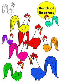 Bunch of Roosters
