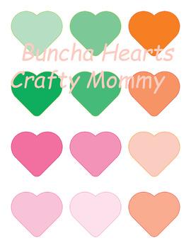 Buncha Hearts Clips