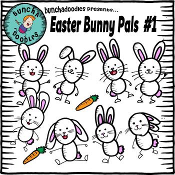 Bunchadoodles Easter Bunny Pals #1