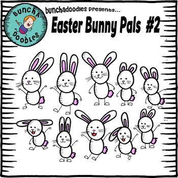 Bunchadoodles Easter Bunny Pals #2
