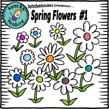 Bunchadoodles Spring Flowers #1