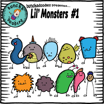 Bunchadoodles Lil' Monsters #1