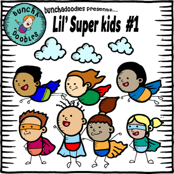 Bunchadoodles Lil' Super Kids #1
