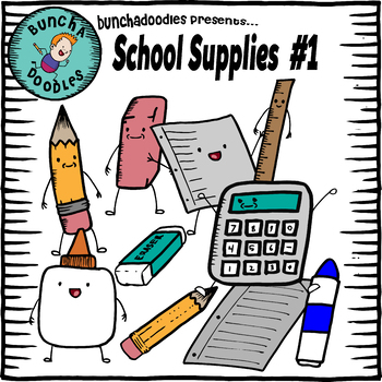 Bunchadoodles School Supplies #1