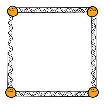 Bunchadoodles Smiley Borders #1