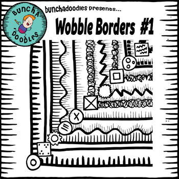 Bunchadoodles Wobble Borders Pack #1