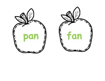 Bunches of Apples and Word Families
