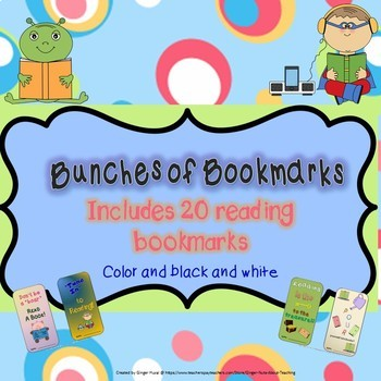 Bunches of Bookmarks (Reading)