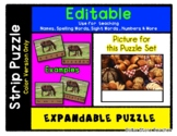 Bunches of Bread - Expandable & Editable Strip Puzzle w/ M