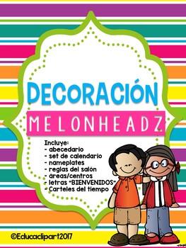 Bundel Decorativo Melonheadz