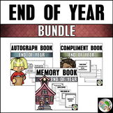 Bundle - Memory Book, Autograph Book, and Compliment Book (K-6)