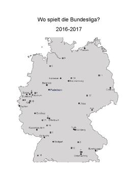 Bundesliga Geography