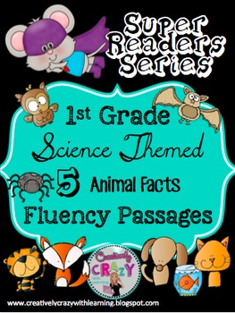 Bundle #1 Fluency Passages With Comprehension: Super Readers Series