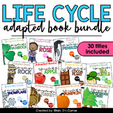 Bundle 1 - Life Cycles Adapted Books [Level 1 and 2] 30 Books Total!