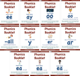 Bundle 1 - Phonics Patterns Booklets of Eleven (11) Mini Booklets
