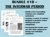 Bundle #10 - Interwar Period - Rise of Fascism - Global/World History
