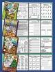 Bundle 10 Months - NO PREP Math & Literacy (Fourth)