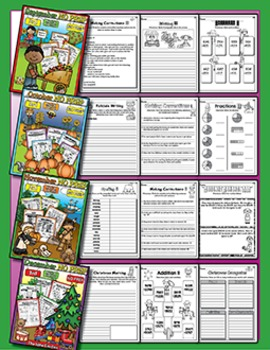 Bundle 10 Months - NO PREP Math & Literacy (Third)