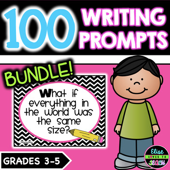 Journal Writing Prompts Bundle | Distance Learning