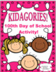 Bundle 100th Day of School and Valentines Printables Game Word problems