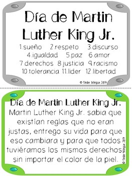 Bundle 11. Día de Martin L. King Jr