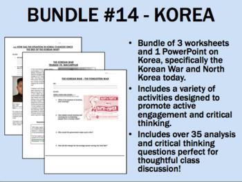Bundle #14 - Korea - Global/World History