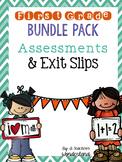 Bundle! 1st Grade Assessments & Exit Slips