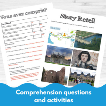 Bundle #2- Comprehensible Input for beginning French learners