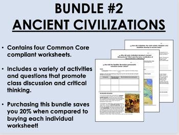 Bundle #2 - Ancient Civilizations - Global/World History