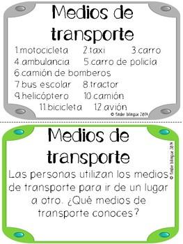 Bundle 2. Medios de transporte