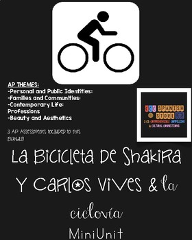 Bundle:  2 Units in 1 - La Ciclovía & La bicicleta