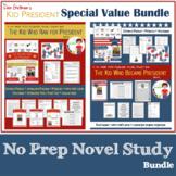 Bundle: 2 Novel Studies Kid Who Ran AND Kid Who Became Pre
