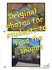 Bundle: 2D and 3D Shapes Around Us - Real Life Picture Cards of Shapes