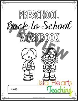 Preschool Back to School Activities (Pre K Beginning of the Year Math & ELA)