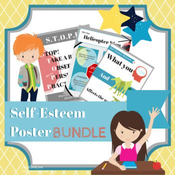 {Bundle} Self Esteem Posters