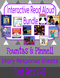 Interactive Read-Aloud: Grade 1 (Fountas & Pinnell) Text Sets 11-15