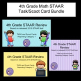 Bundle - 4th Grade Math STAAR Scoot/Task Cards