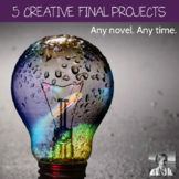 Bundle: 5 Creative ELA Projects, Any Novel
