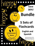 Bundle - 5 Sets of Flashcards