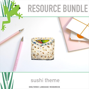 5 Sushi Theme Classroom and Observation Resources