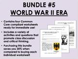 Bundle #5 - World War II