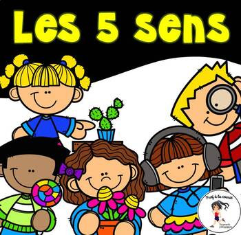 Bundle- 5 Senses / Ensemble - Les 5 sens