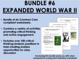 Bundle #6 - Expanded World War II - Global/World History Common Core